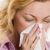 Woman, Kleenex, Sneeze